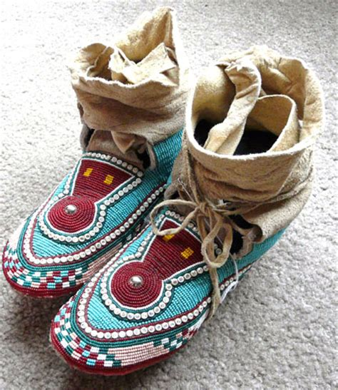 how to bead moccasins beading patterns for moccasins images