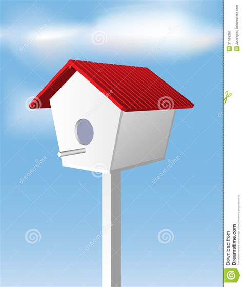 house drawing stock images royalty free images vectors bird house stock vector image of season birdhouse color
