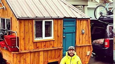 Pop Up Cabin by Converts Pop Up Trailer Into Micro Cabin On Wheels