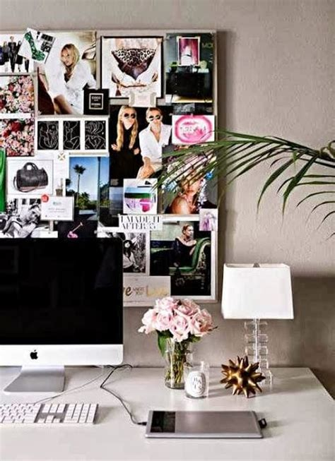 office space inspiration pretty office decor ideas blushing black