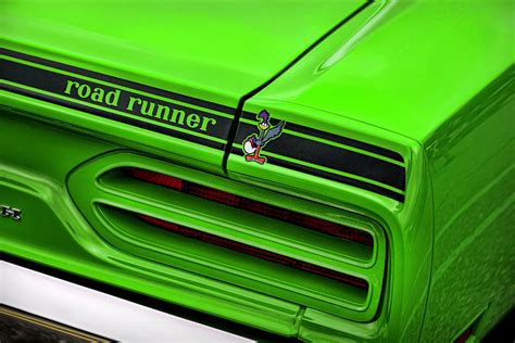 81 Curtain Road 1970 Plymouth Road Runner Sublime Green Photograph By