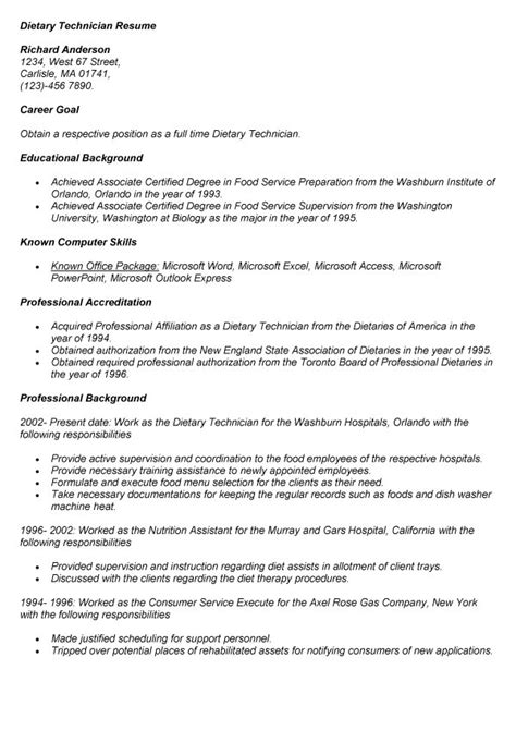 research assistant resume no experience resume for dietary aide with