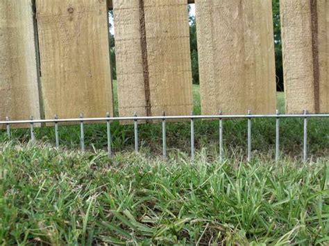 digging fence solutions a solution to fence that is raised or that a digs around i can do this for a lot
