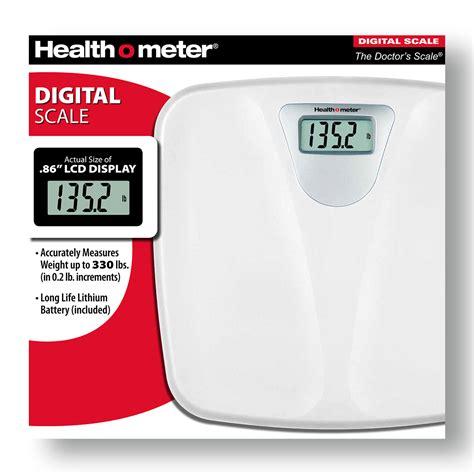 health o meter bathroom scale health o meter 174 digital scale