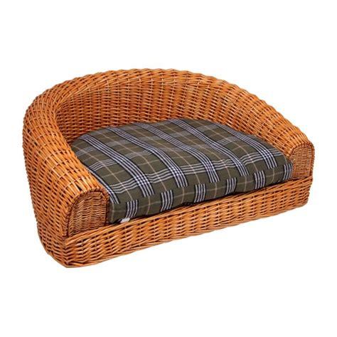 divanetto vimini divanetto cuccia in vimini per gatto