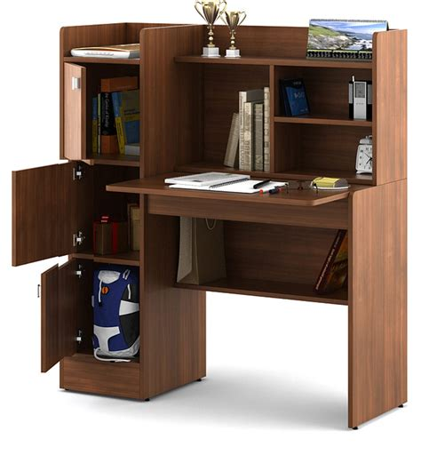 study table for 2 buy winner study table in rigato walnut finish by