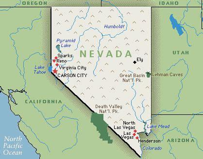 usa map with states las vegas nevada nv djs photographers videographers