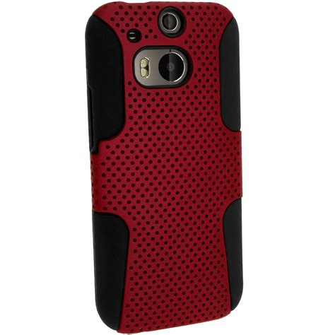 Silicone Htc silicone skin gel cover pc mesh for htc one m8 2014