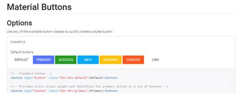bootstrap material design layout material design helpful resources tools and code snippets