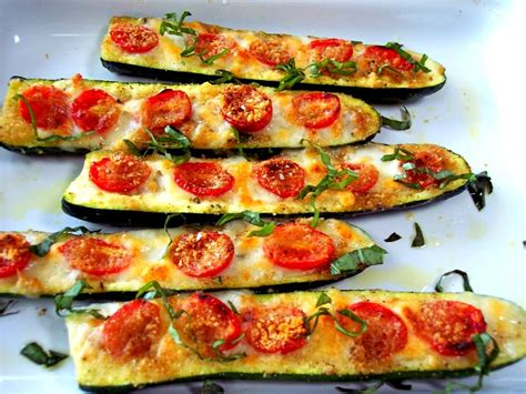 roasted zucchini boat recipes zucchini boats culinary reviewed
