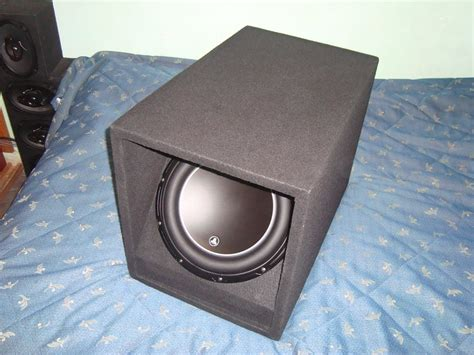 cajon subwoofer 12 cajon para subwoofer 12 jl audio pioneer mtx sony alpine