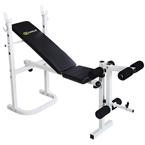 folding olympic bench goplus 174 olympic folding weight bench incline lift workout