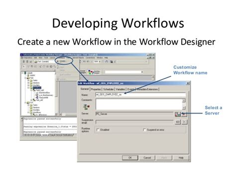 how to create a workflow in informatica how to schedule workflow in informatica 28 images