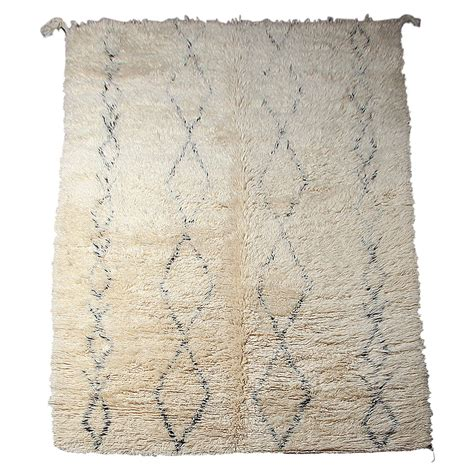 beni ourain rugs vintage beni moroccan ourain rug at 1stdibs