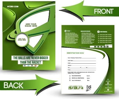 business flyer design vector free download business flyer and cover brochure design vector free