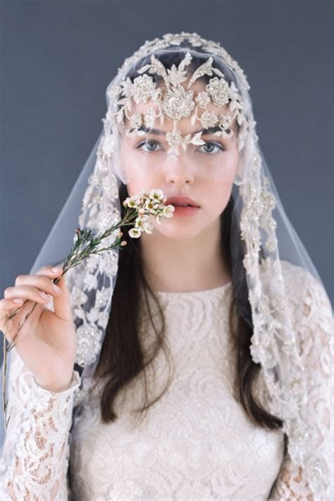 Vintage Wedding Hair Veils by Vintage Wedding Headpieces And Veils Www Pixshark