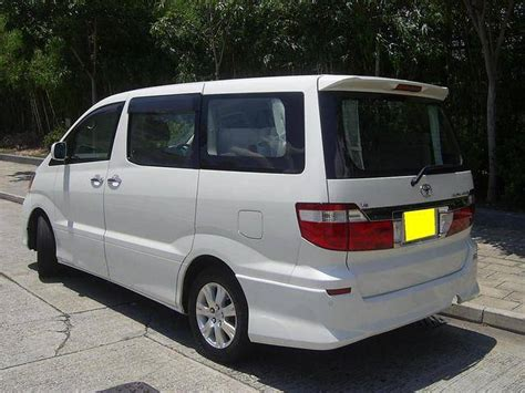 2004 toyota alphard 3 0 8 seater for sale in hong kong