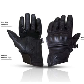 Sarung Tangan Kulit Carbon Look Protector sarung tangan motor