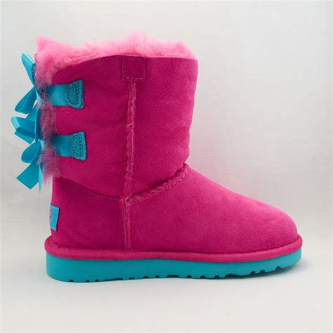 pink ugg boots with bows pink uggs with bows for sale