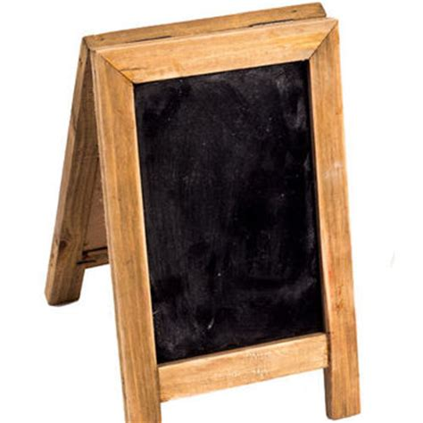 Standing Mini Frame best wood frame chalkboard products on wanelo