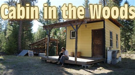 Floor Plans Small Cabins our tiny cabin in the woods 12x16 tiny house youtube