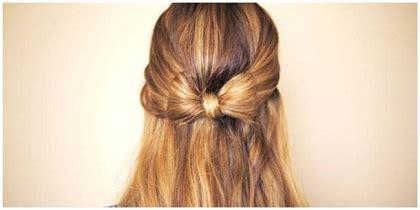 tutorial kuncir rambut unik tutorial rambut gaya ikat pita unik dan modern