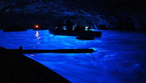 gruta azul italiajpg lugares con luz propia de noche portal inmobiliario de