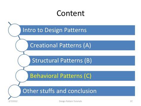 design pattern c video tutorials design patterns tutorials