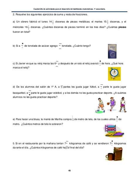 imagenes de habilidades matematicas habilidades matematicas 1 secundaria