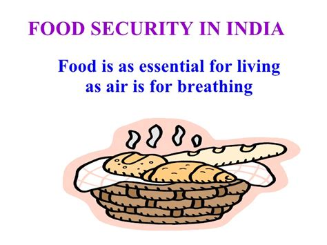food security in india class ix