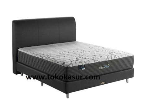 Springbed 2in1 Murah Charmy 100x200 therapedic dr pedic toko kasur bed murah
