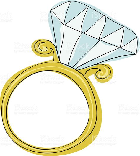 engagement ring stock vector 186669662 istock