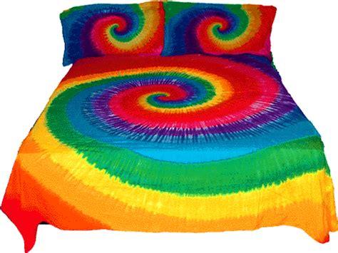 rainbow tie dye comforter tie dye bedding