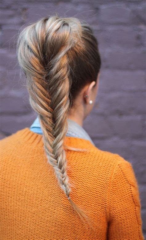 history of fishtail braiding 25 best ideas about fishtail ponytail on pinterest