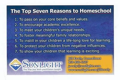7 Reasons I College As An by Paths To Learning The Top Seven Reasons To Homeschool