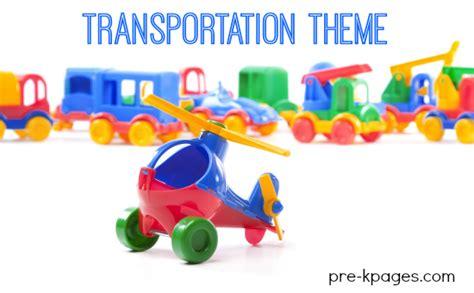 kindergarten themes transportation transportation themed worksheets kindergarten land