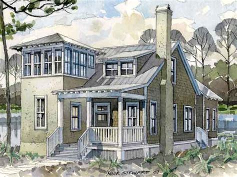 house plans with towers seaside lookout allison ramsey architects inc