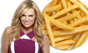 hot chips during first trimester sonia kruger reveals all she could eat was hot chips