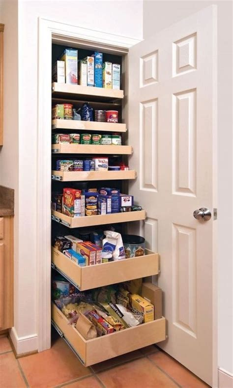Kitchen Shelf Organizer Ideas 17 Best Ideas About Small Pantry Closet On
