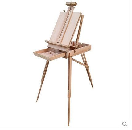 Handmade Easel - 2017 imported beech german imports of portable