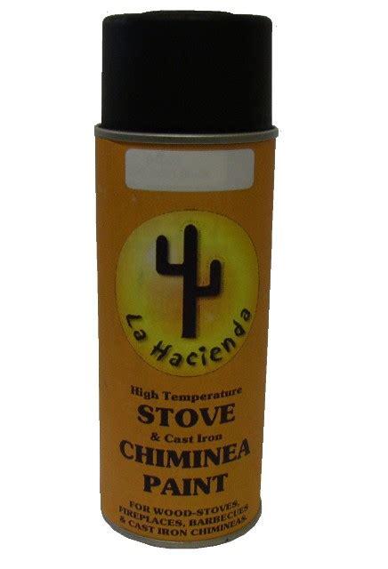 stove cast iron chimenea paint 163 8 99