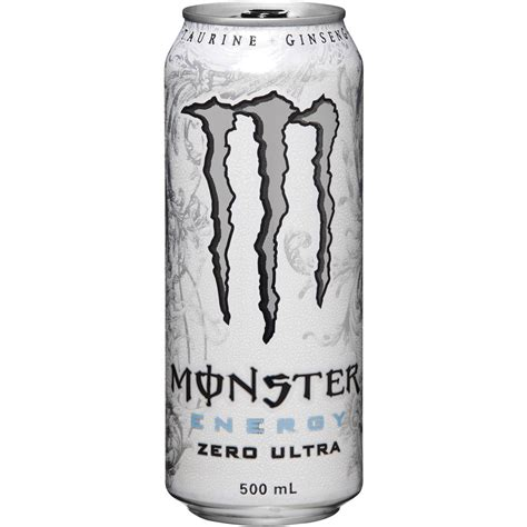 Monster Energy Drink Gift Cards - monster energy drink ultra zero 500ml single woolworths