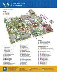San Jose State Map by Gallery For Gt Sjsu Campus Map