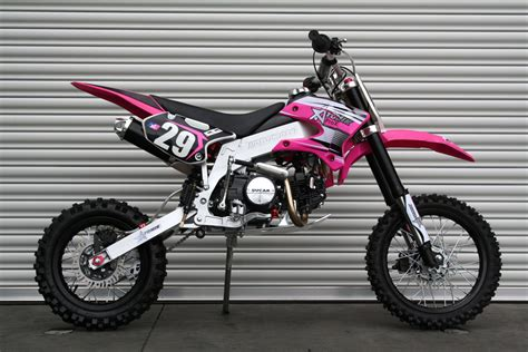 pink motocross bike dirt bike 125cc
