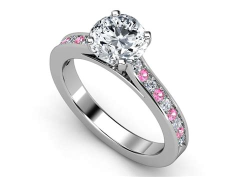 pink sapphire engagement rings from mdc diamonds nyc