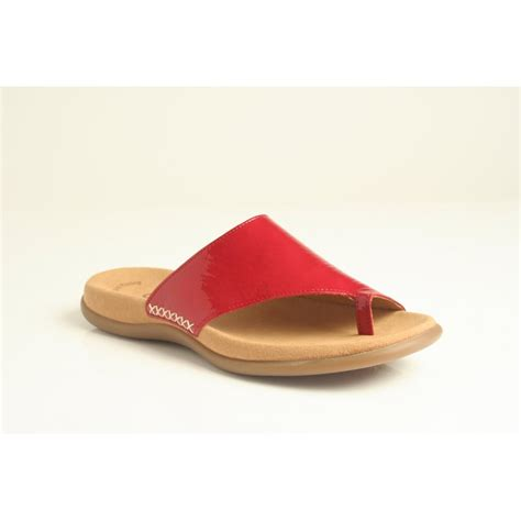 sandal soles gabor gabor sandal style quot lanzarote quot with toe post and