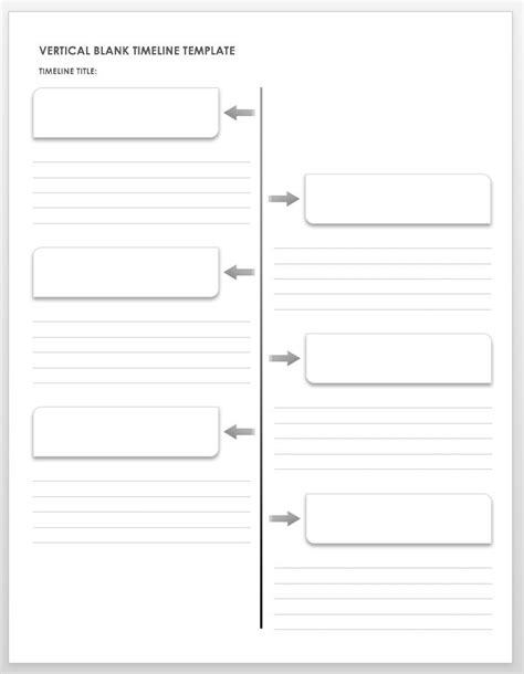 Website Timeline Template by Free Blank Timeline Templates Smartsheet