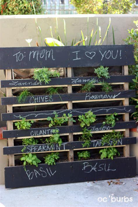 Vertical Pallet Herb Garden Herb Gardens 30 Great Herb Garden Ideas The Cottage Market