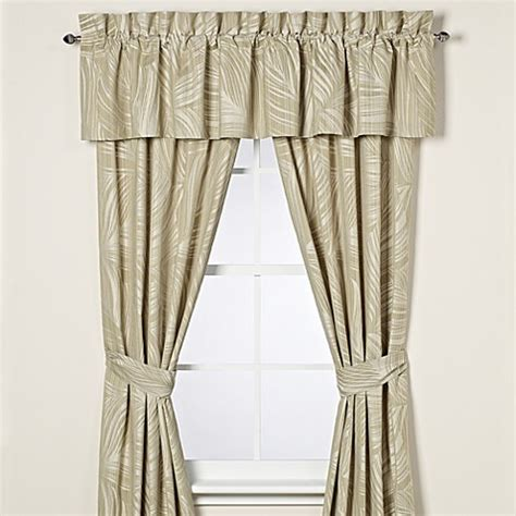 tommy bahama drapes tommy bahama 174 montauk drifter window curtain panel pair