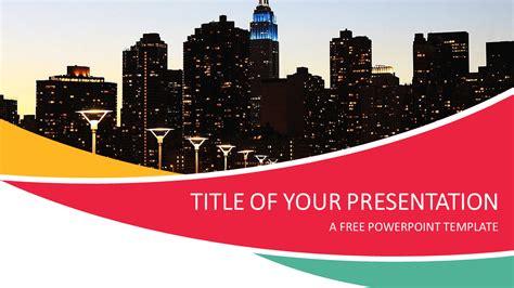 City Powerpoint Template Presentationgo Com City Ppt Template